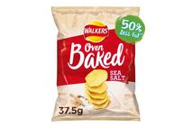 Walkers Oven Baked Sea Salt Snacks 37.5g