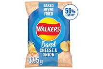 Walkers Baked Cheese & Onion Snacks 37.5g