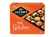 Jacob's Crackers Biscuits For Cheese 900g