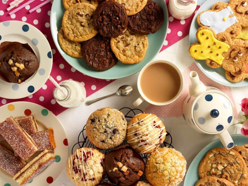 Sweet Biscuits, Cookies And Cakes