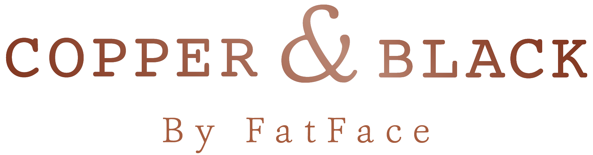 Copper & Black by FatFace
