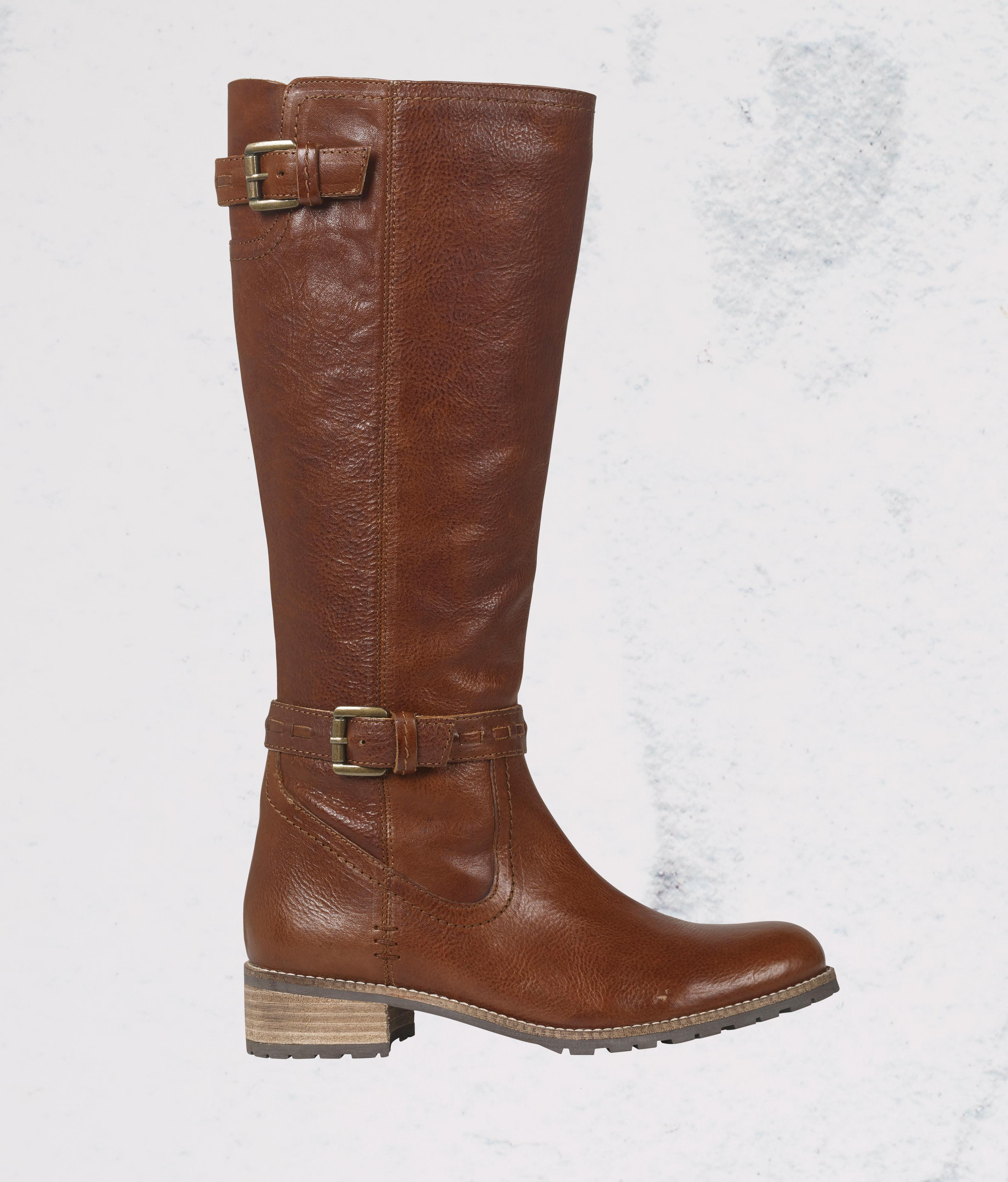 Super comfy, stylish Newham Chelsea Ankle Boots in Tan from FatFace.
