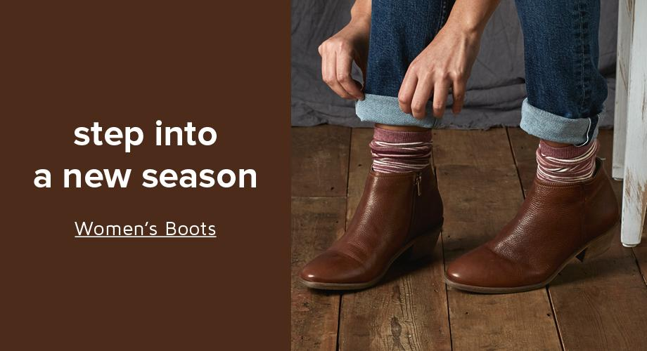 step into a new season