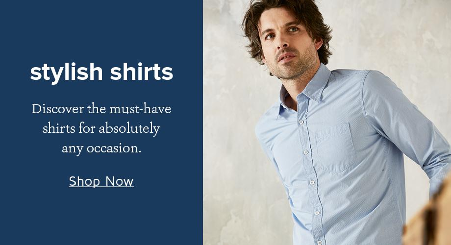 d9be2ad52ce7 Men s FatFace Shirts for Summer - Button up and Linen Shirts