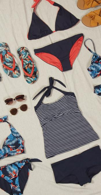 a perfect-fit guide swimwear