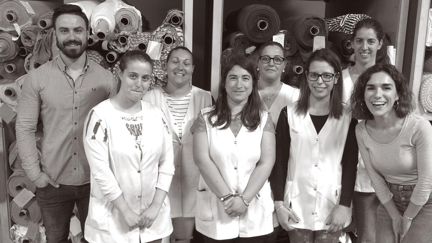 The Pedrosa factory workers based in portugal, who make the FatFace Anything but Basic range