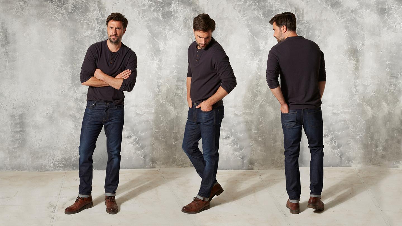 Men's Jeans Fit Guide Men's Clothing Fit Guide