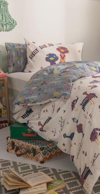 Elsie the emu bedding set