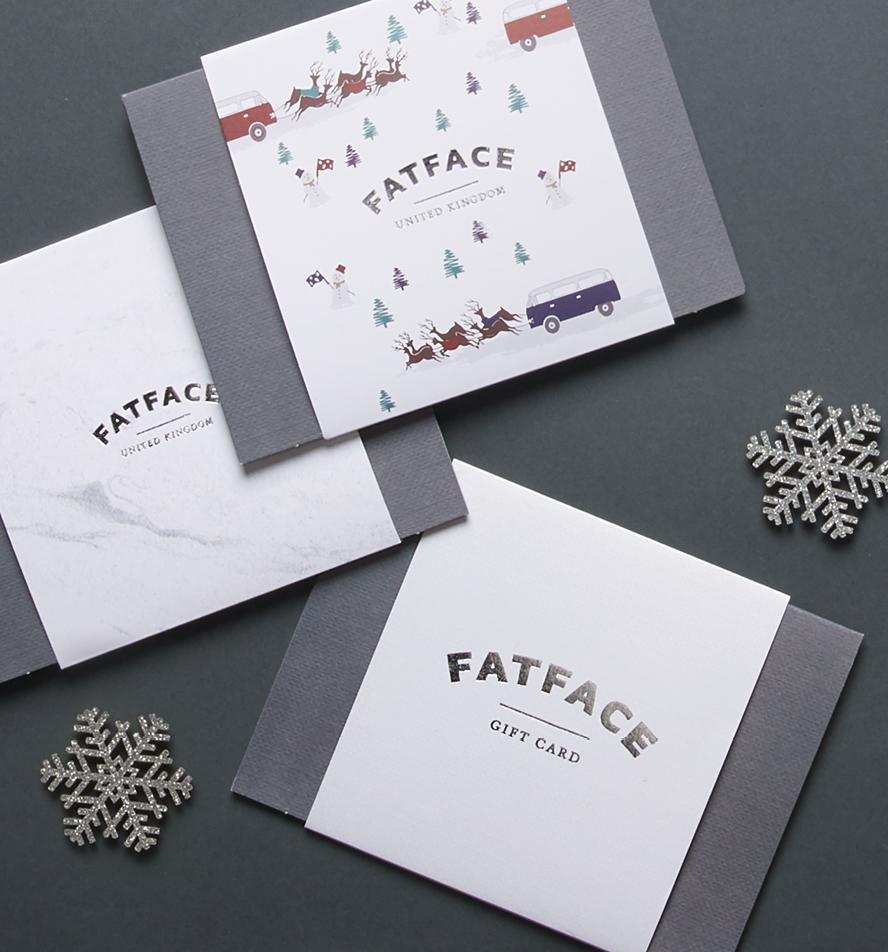 Treat a loved one to a FatFace gift card.