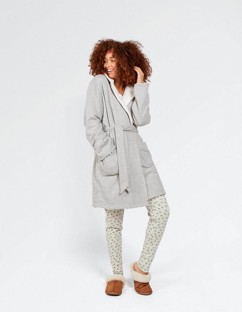 Jersey Dressing Gown, Nightwear   FatFace.com