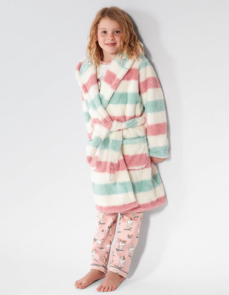 Stripe Dressing Gown, Clothing   FatFace.com