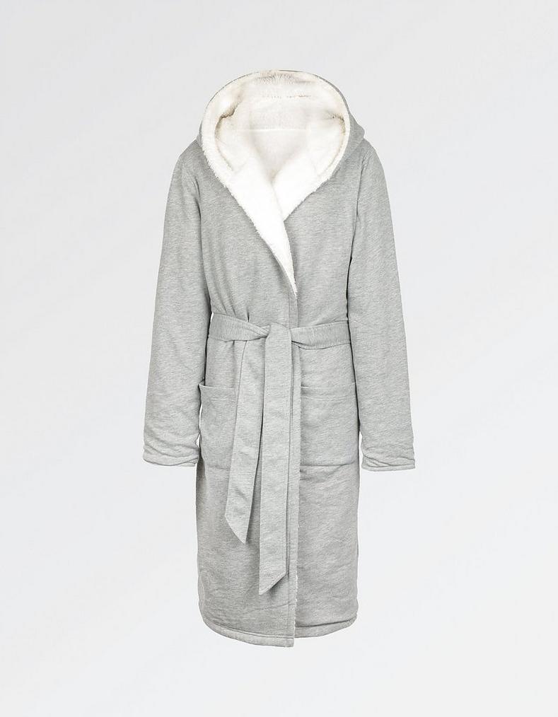 Longline Jersey Dressing Gown, Nightwear   FatFace.com