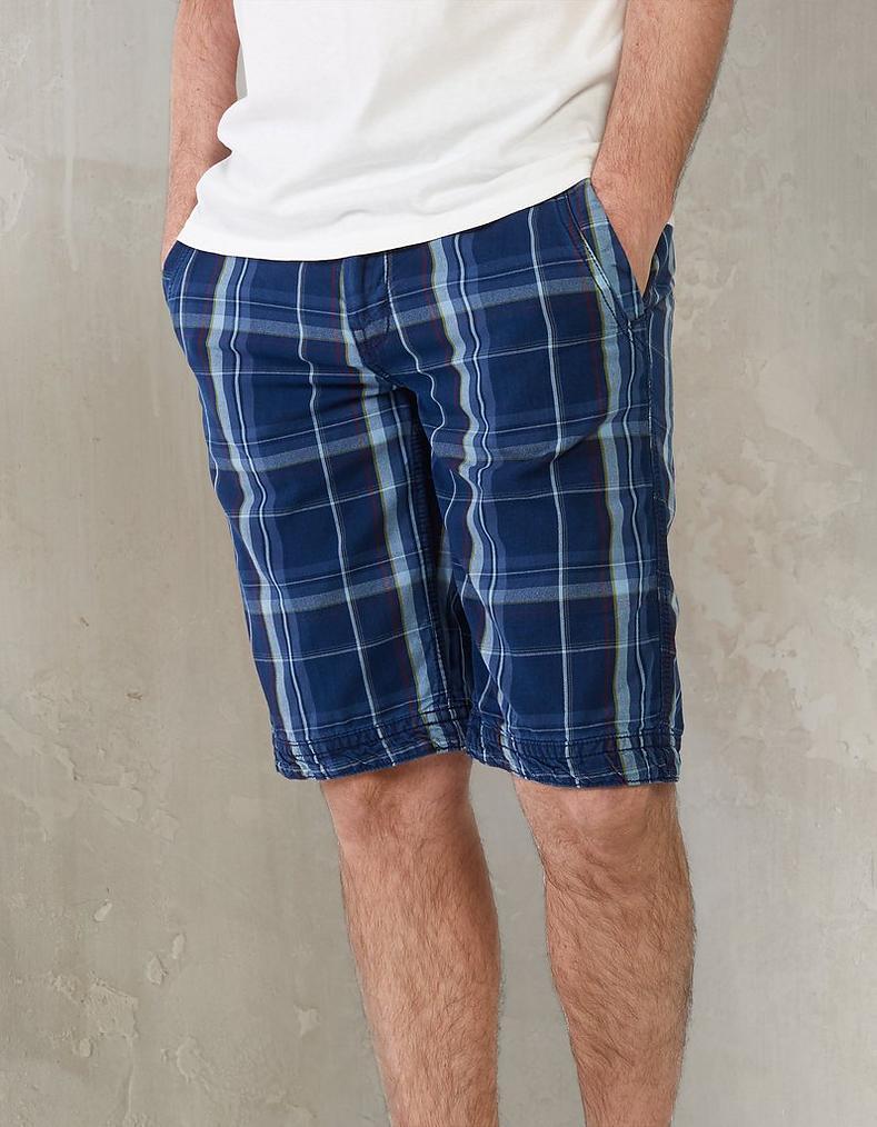 a493c93212 Check Cove Flat Front Shorts, Shorts   FatFace.com