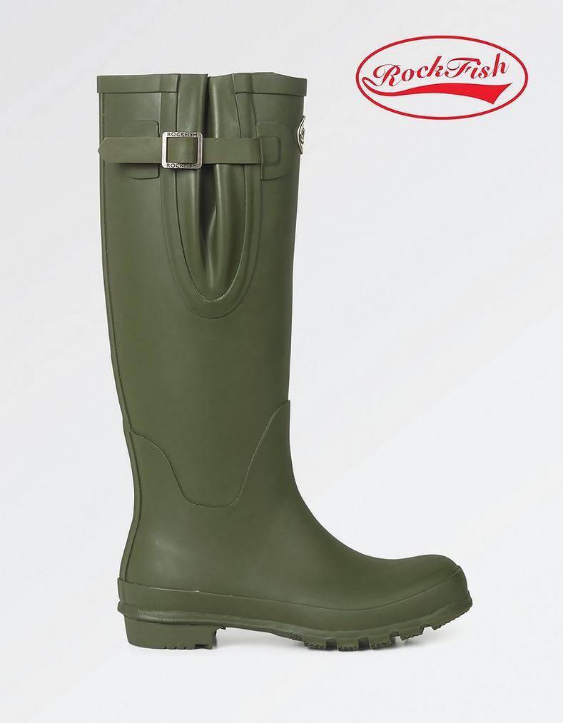 AWARD WINNING BOOTS, Handmade, Rockfish Short Wellington, Women's Wellies, Rain Boots, Including FREE DELIVERY