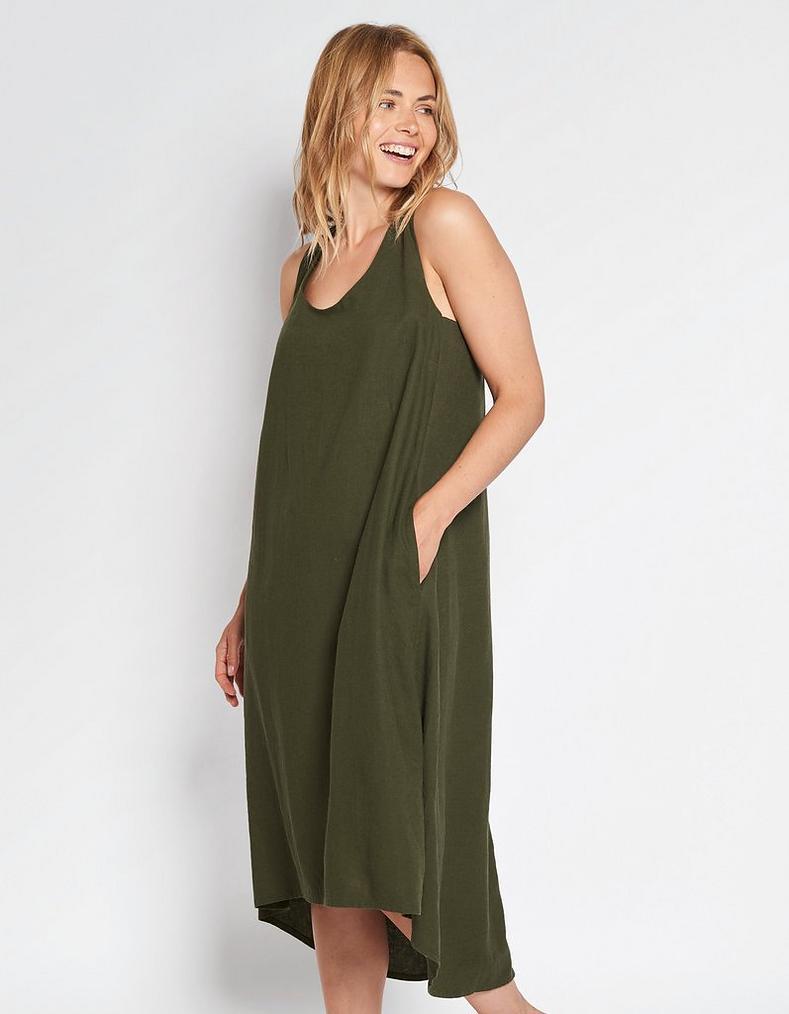 df034934a9 Lola Linen Dress