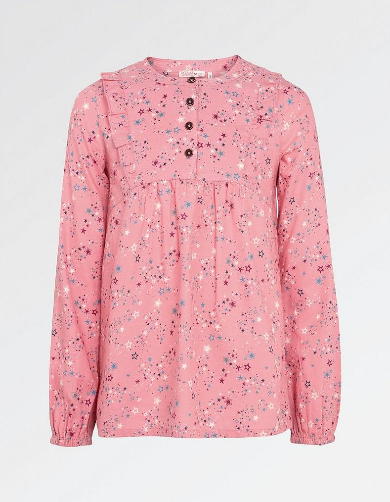 Lucy star print blouse tops t shirts fatface lucy star print blouse mightylinksfo