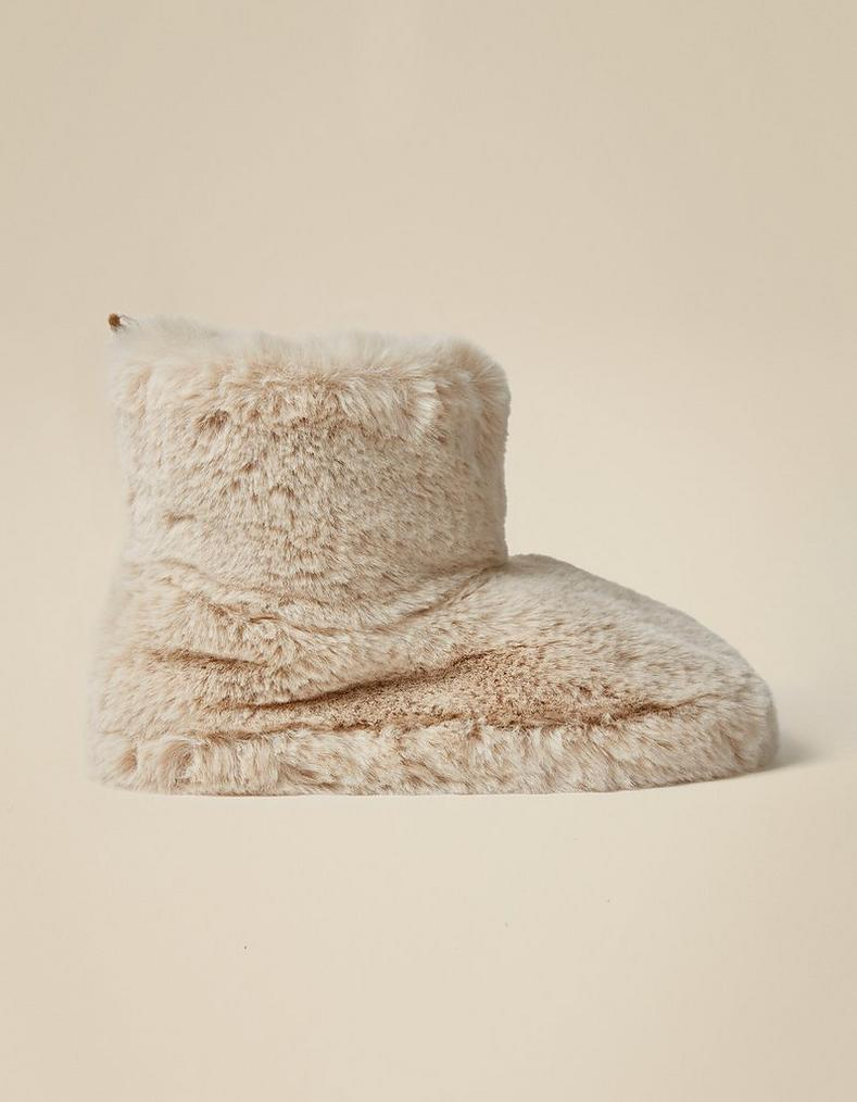 3632307bc41 Freya Fluffy Slipper Boots