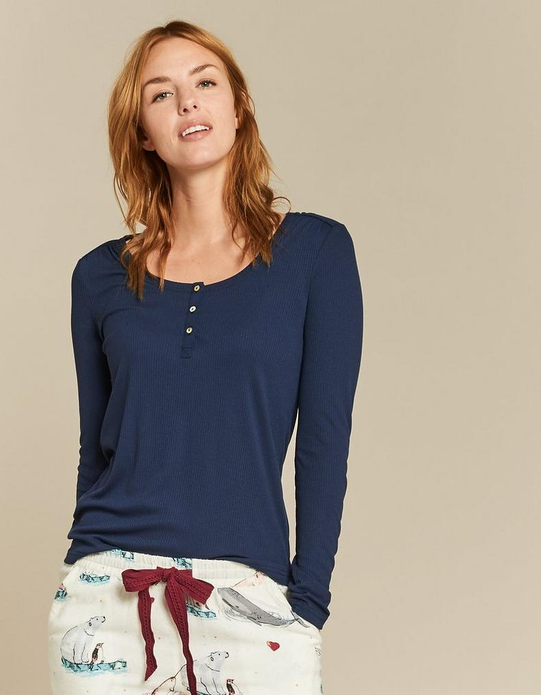 Avebury Henley T Shirt by Fat Face