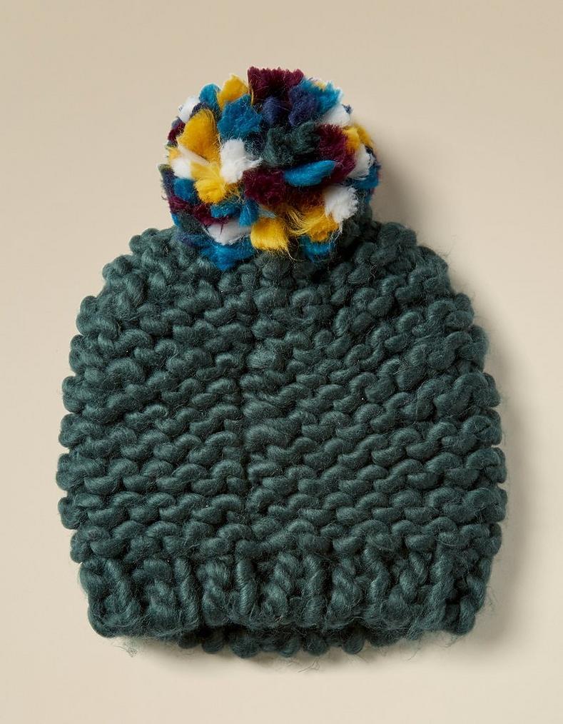 Green Chunky Knit Beanie 7279f923a3e
