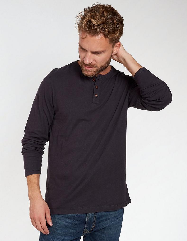 0bcee2e11d1ac6 Lowick Hemp Henley T-Shirt
