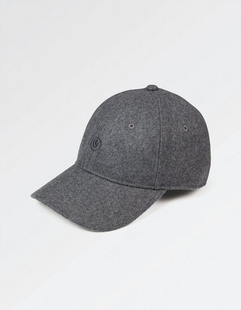 db69c591a8a Charcoal Wool Baseball Cap
