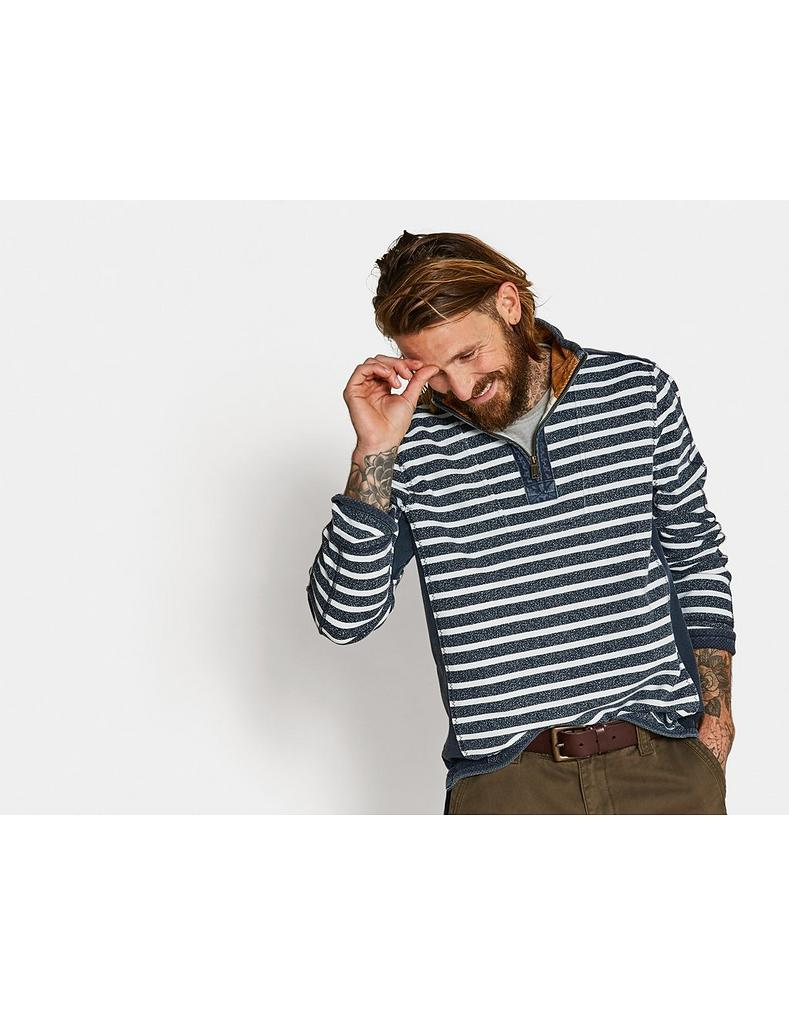 4ce256fa Airlie Jaspe Stripe Sweat, Sweatshirts & Hoodies | FatFace.com