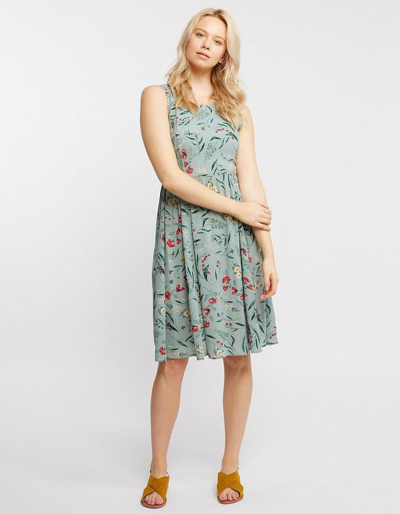 af1141e235a9 Karen Harvest Floral Dress