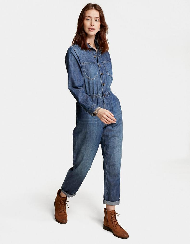 60effa03fa06 Long Sleeve Jumpsuit, Jumpsuits & Playsuits | FatFace.com