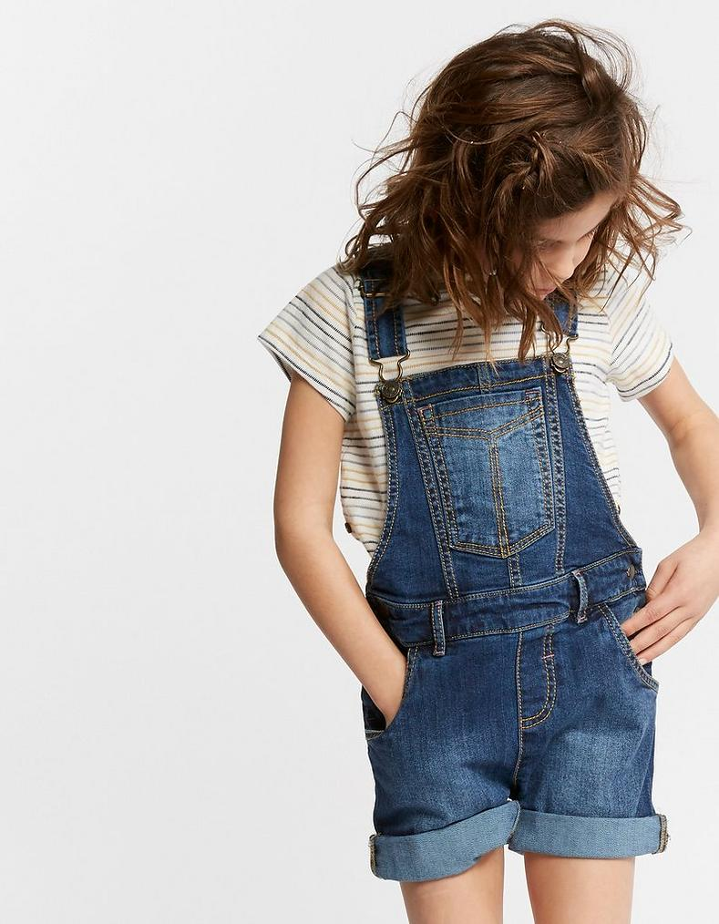 on sale street price clients first Denim Shortie Dungarees