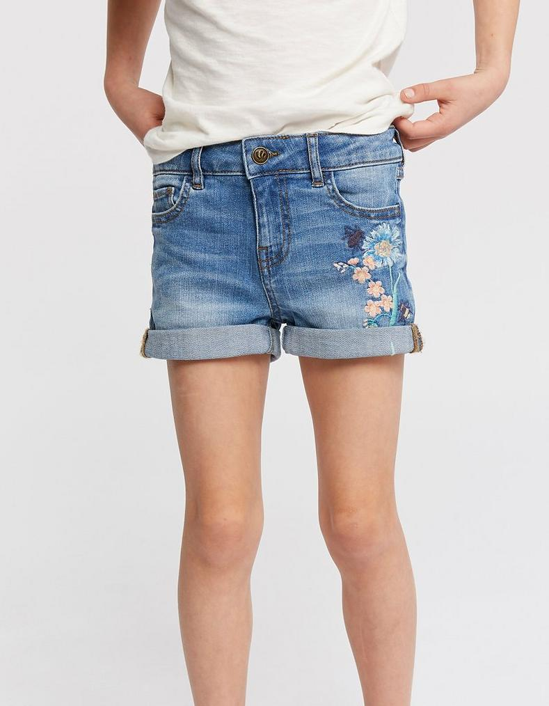 2db75e633a Embroidered Denim Shorts, Jeans, Shorts & Trousers | FatFace.com