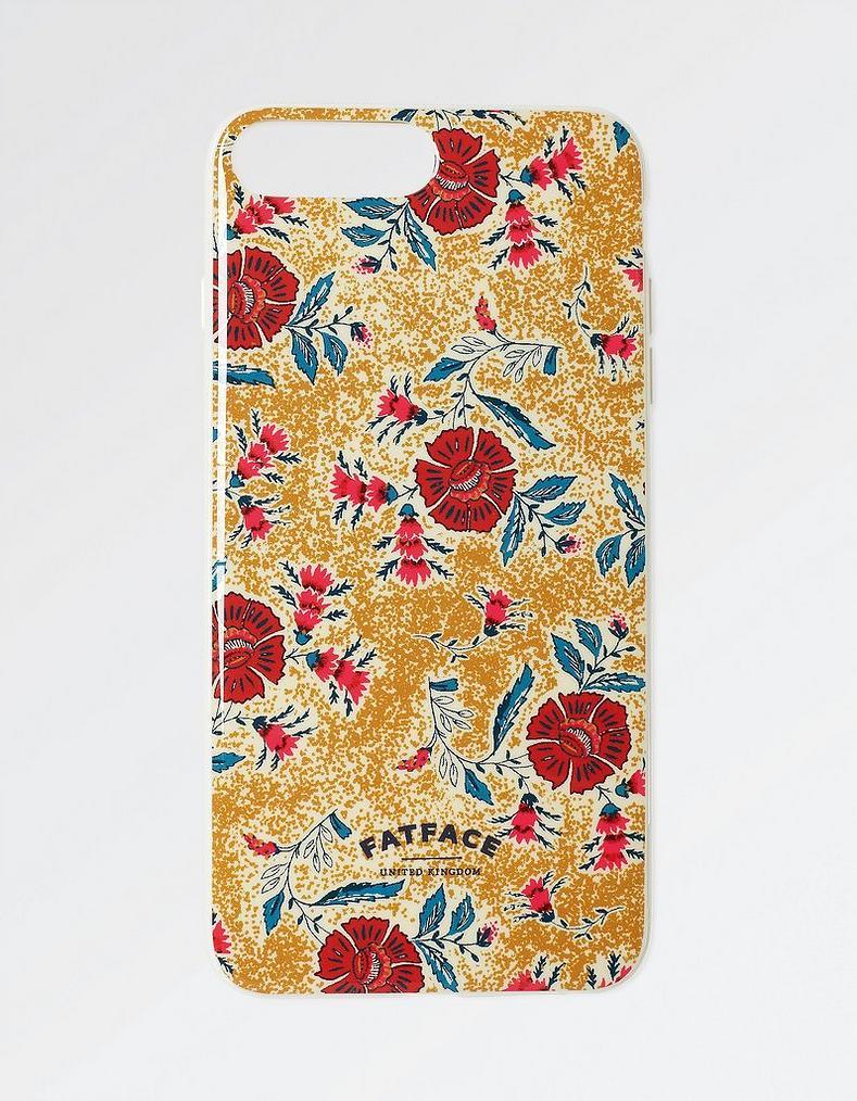 Mustard Bali Floral Iphone 7 8 Plus Case Phone Cases Fatface Com