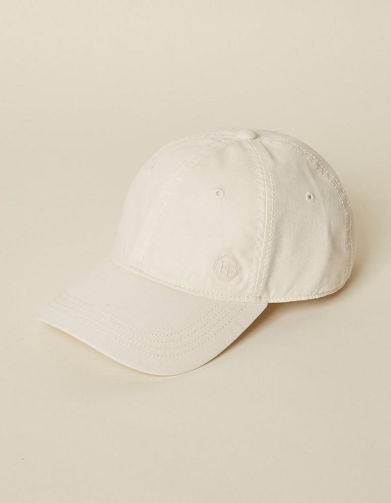 86913b19b473d White Plain Baseball Cap