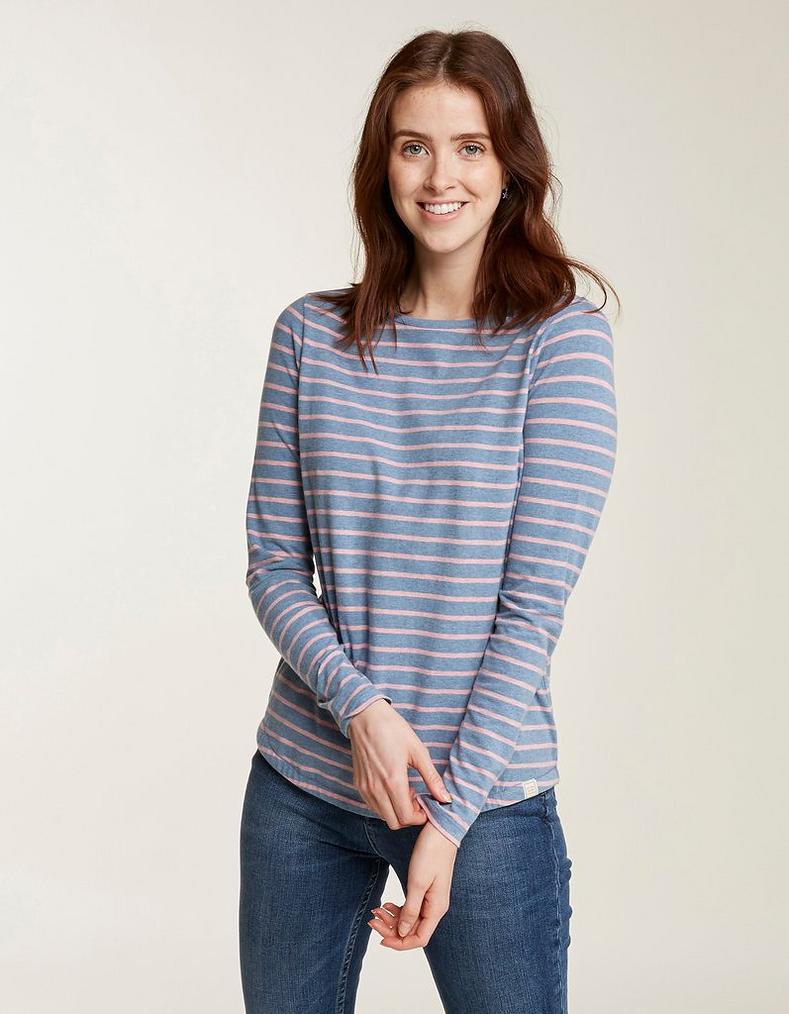 bc37bb4e Organic Cotton Breton T Shirt, Tops & T-Shirts | FatFace.com