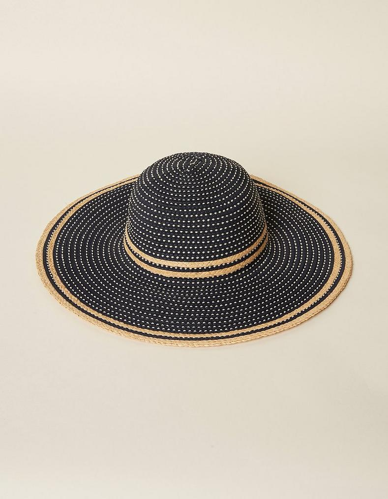 Natural Woven Tape Hat 8a75ba022b2