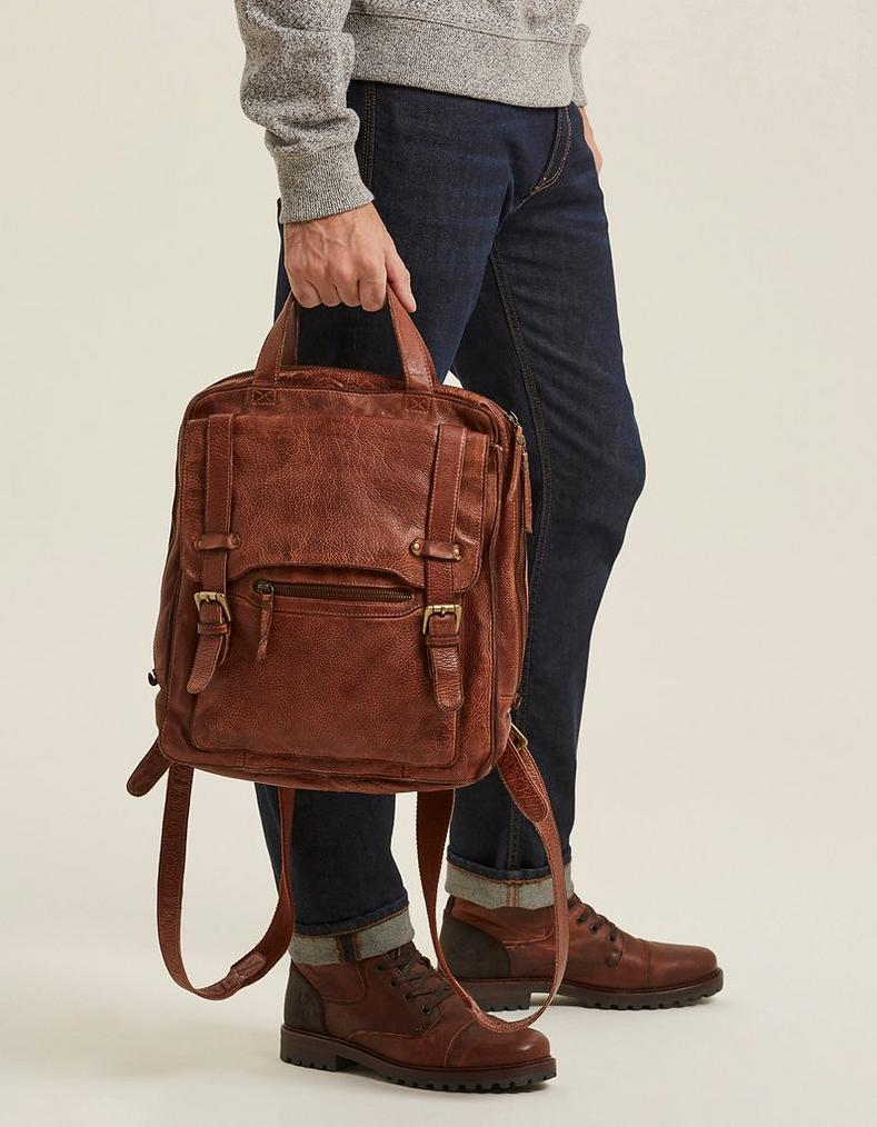 79e71209dda4 Chestnut Leather Rucksack