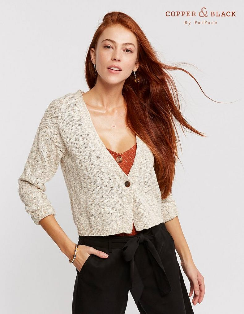 9001f16cd8c Lottie Cardigan, Knitwear | FatFace.com