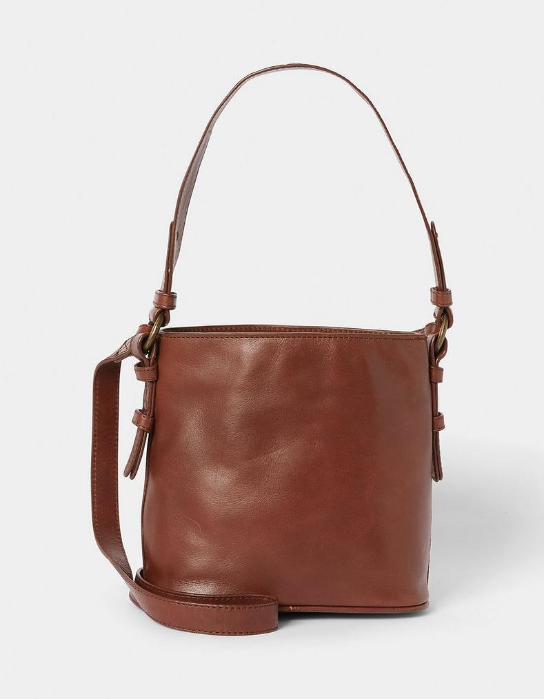 71195b75ebc Chestnut Belle Mini Bucket Bag, Bags & Purses | FatFace.com