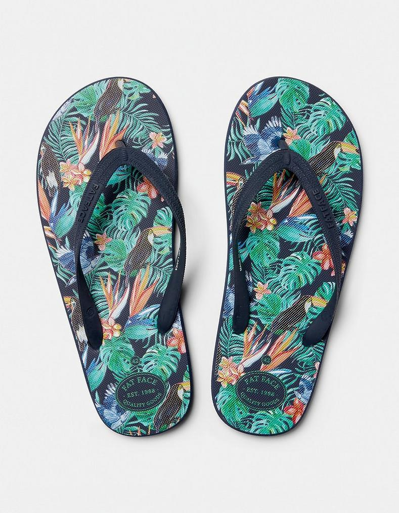 35c727ce3 Henley Tropical Flip Flops