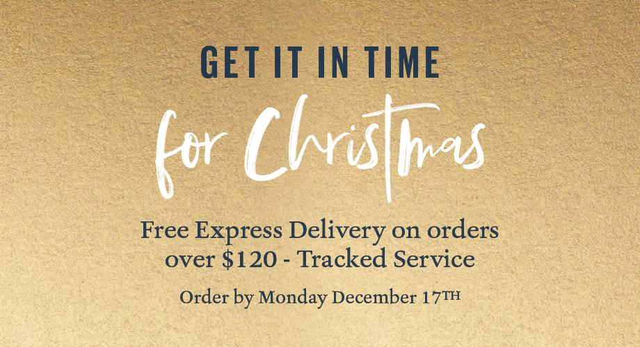 Get it in time for Christmas. FREE EXPRESS DELIVERY ON ORDERS OVER $120 - TRACKED SERVICE ORDER BY MONDAY DECEMBER 17TH