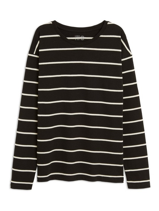 e297161c Striped Long Sleeve T-shirt | Lindex.com