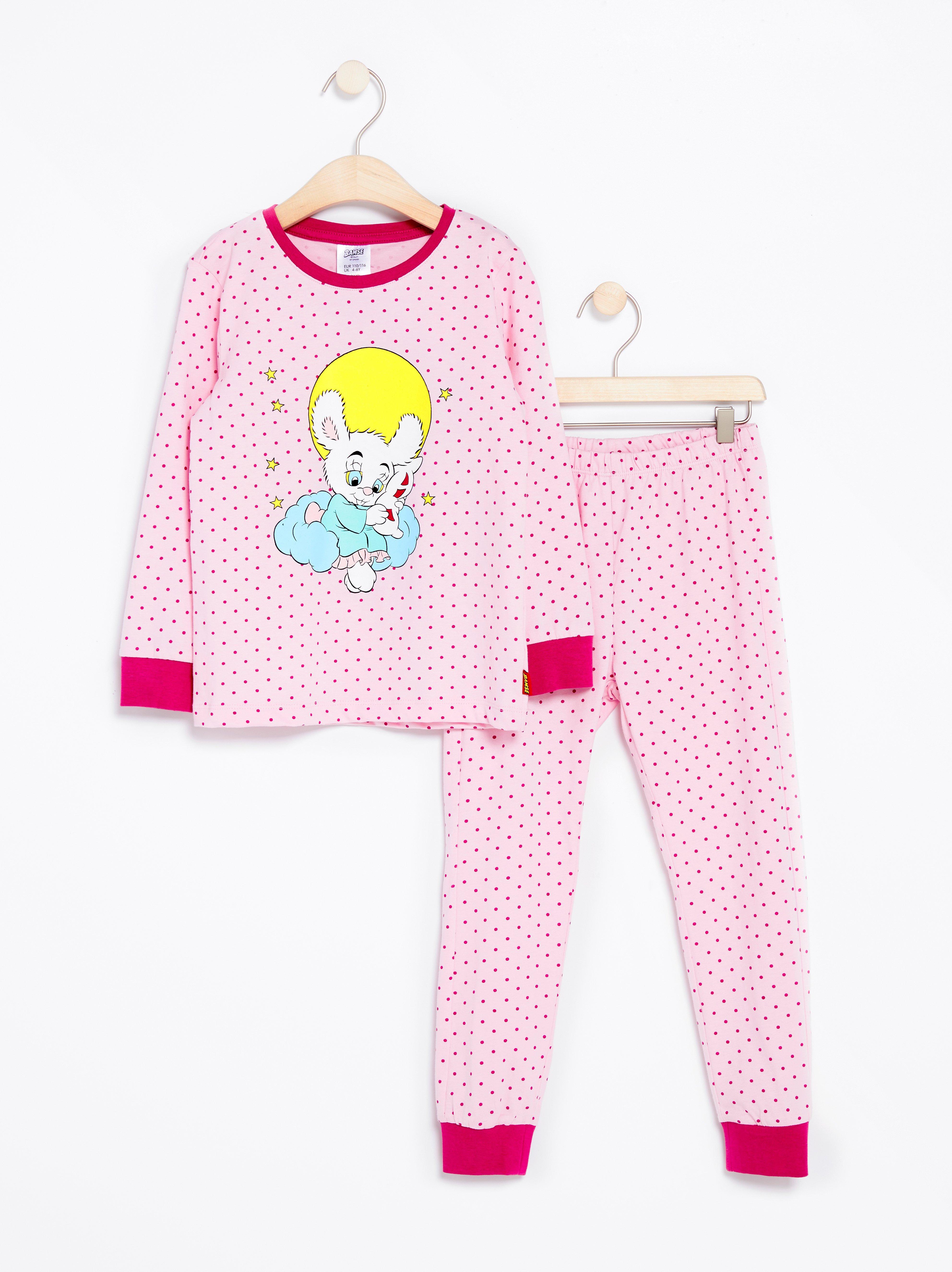 Pyjamas med Bamse-tryck Lindex - Shoppa idag d9319a8282b6b