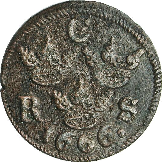 Schwedische Wrackmünze Aus Dem 17 Jahrhundert Münzen Günstigerde