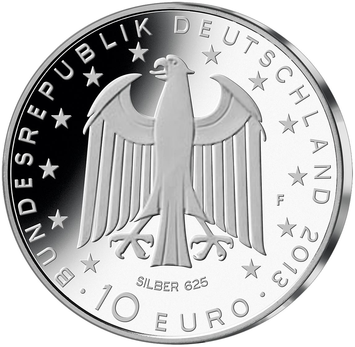 10 Euro Münze Brd Georg Büchner 2013 10 Euro Münzen Euro Münzen