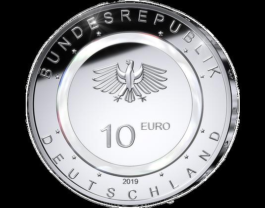 Mdm 10 Euro Münze 2019 Ausreise Info