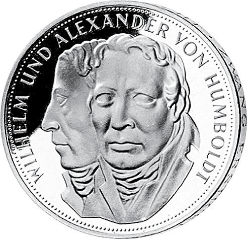 5 Dm Silbermünze Humboldt 1967 Münzen Günstigerde