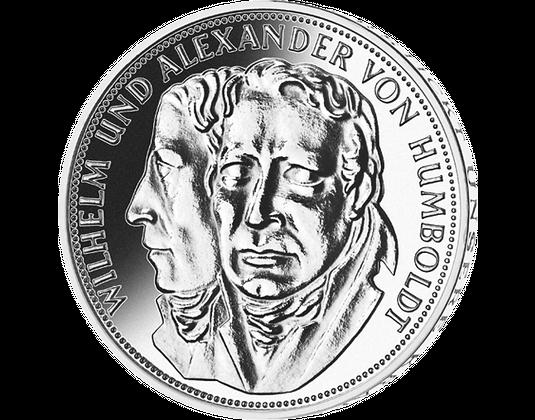5 Dm Münze 1967 Gebrüder Humboldt Mdm Deutsche Münze