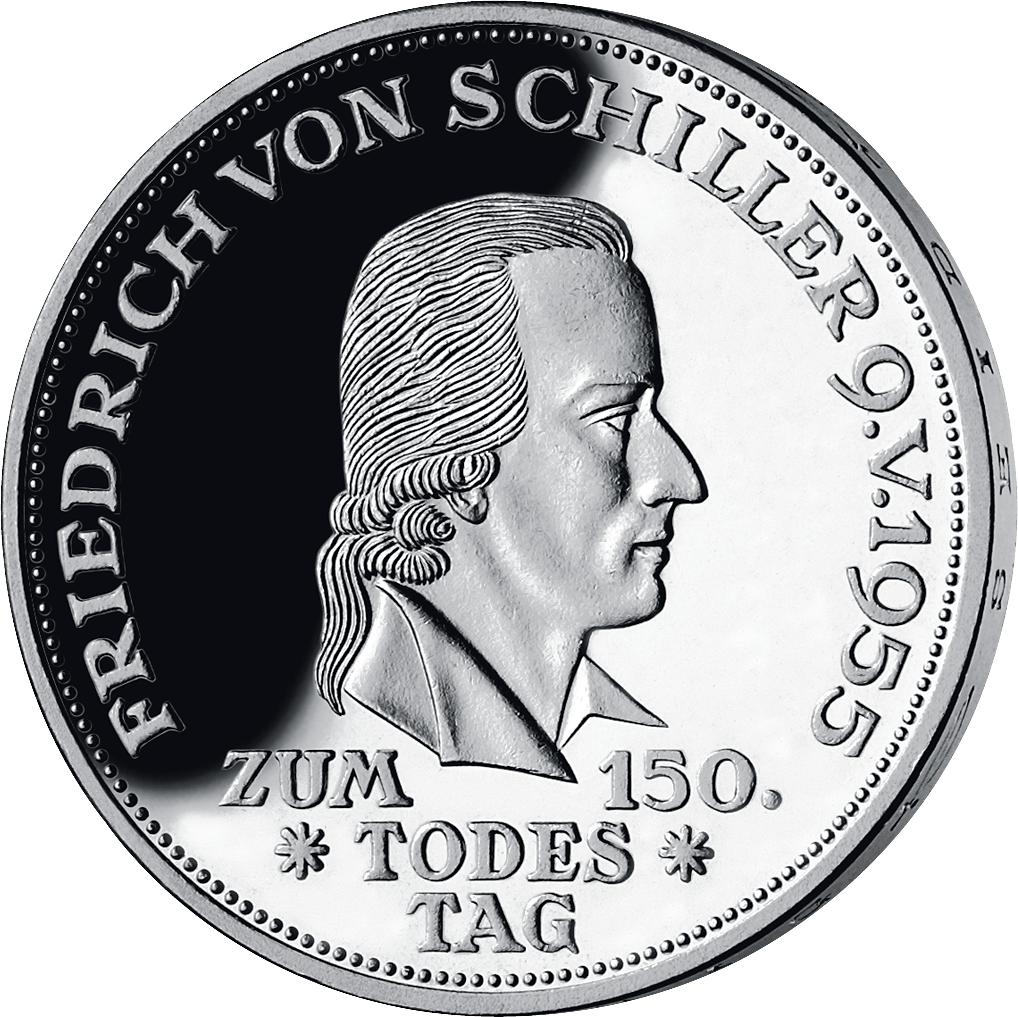 5 Dm Silber Münze Germanisches Museum Deutschland 1952 Münzen