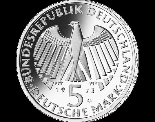 5 Dm Münze 1973 Nationalversammlung Mdm Deutsche Münze