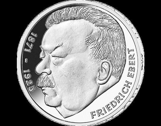 5 Dm Münze 1975 Friedrich Ebert Mdm Deutsche Münze
