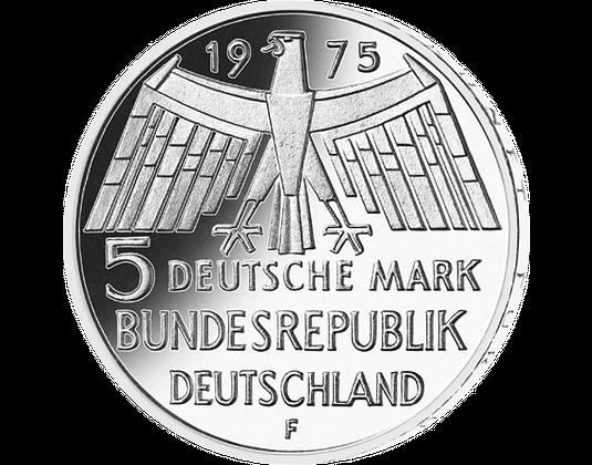 5 Dm Münze 1975 Europäisches Denkmalschutzjahr Mdm Deutsche Münze
